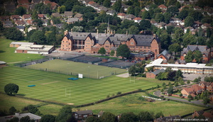 Cheadle Hulme School from the air