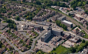 Cheadle Hulme Stockport  Cheshire aerial photograph