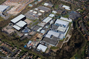 Bramhall Moor Technology Park  Pepper Rd Hazel Grove Stockport aerial photograph