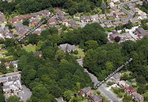 High Lane  Stockport aerial photograph