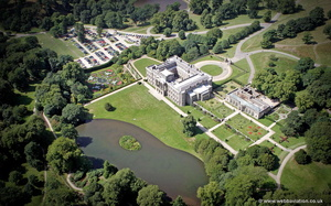 Lyme Park from the air