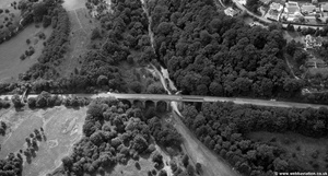 Goyt Viaduct   from the air
