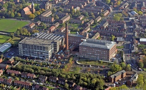 Reddish Mill  Stockport  aerial photograph