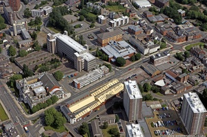 Edward Street, Stockport,  from the air