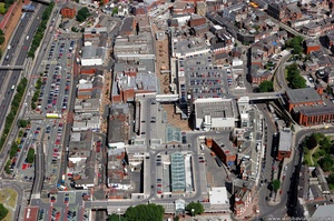 Merseyway Shopping Centre  Stockport  from the air