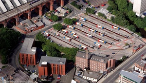 Stockport Bus Station  from the air