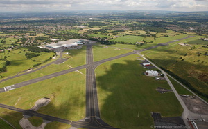 Woodford Aerodrome from the air