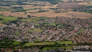 Widnes  aerial photograph