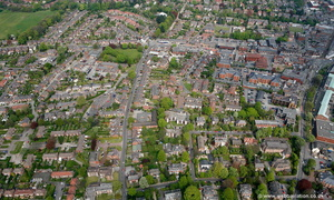 Hawthorn Street  Wilmslow  from the air
