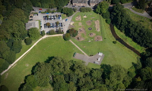 The Carrs Park Wilmslow from the air