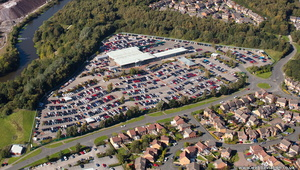 Fords of Winsford from the air