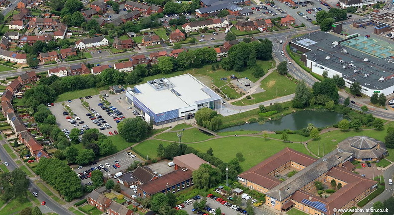 Winsford Lifestyle Centre aerial photograph