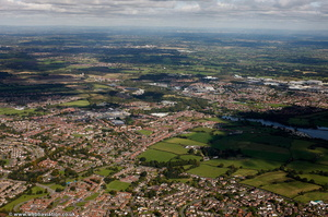Winsford from the air
