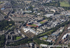 Edinburgh Scotland  UK aerial photograph