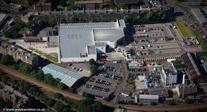 Sainsbury's Supermarket  Edinburgh  from the air
