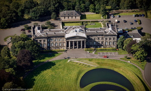 the Scottish National Gallery of Modern Art  Edinburgh from the air