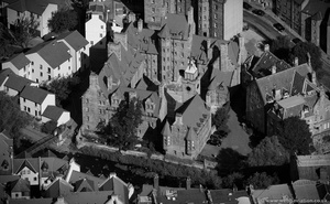Well Court Dean Village Edinburgh from the air