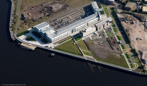 Clydebank College Campus Glasgow Scotland   UK aerial photograph