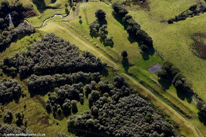 the Antonine Wall   from the air