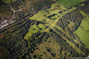 Antonine Wall   from the air