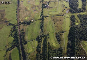 Antonine Wall Scotland  UK aerial photograph