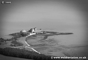 Blackness Castle Scotland  UK aerial photograph