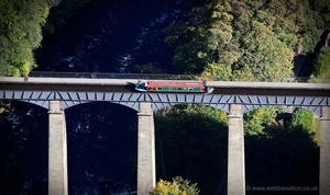Pontcysyllte Aquaduct  from the air