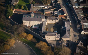 Ruthin Gaol aerial photograph