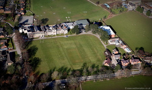 Ruthin School aerial photograph
