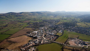 Ruthin aerial photograph