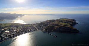 The Great Orme from the air