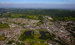 Caerphilly Gwent Wales  aerial photograph