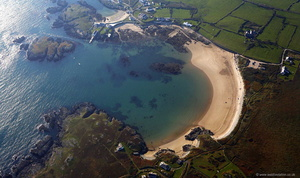 Borth Wen  Anglesey  aerial photograph