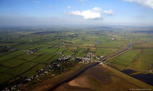 Malltreath Anglesey  aerial photograph