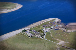 Fort Belan  North Wales  aerial photograph