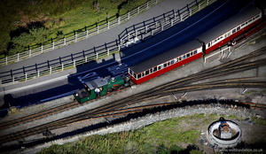 Ffestiniog Railway from the air