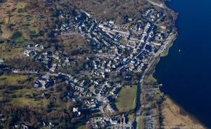 Llanberis from the air