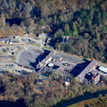 National Slate Museum  Llanberis from the air