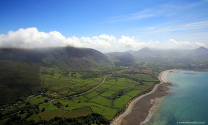 A499 North Wales Coast Road  aerial photograph