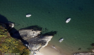 Abersoch  Llyn Peninsula  Wales  from the air