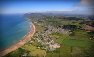 Nefyn on the Lleyn Peninsiula  North Wales aerial photograph