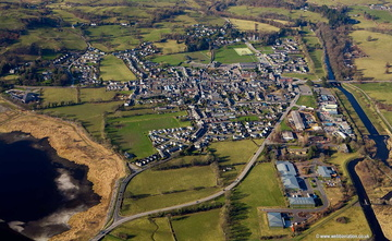 Bala  Wales from the air