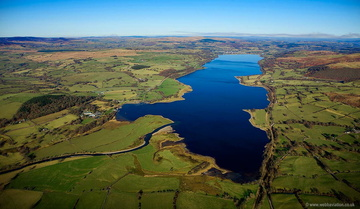 Lake Bala  ( Llyn Tegid ) from the air