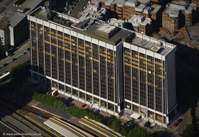 Brunel House Cardiff CF24 aerial photograph