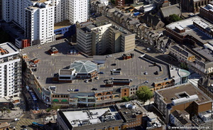 Capitol Centre Cardiff, aerial photograph