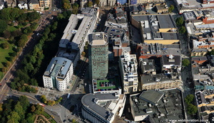 Capitol Tower  Cardiff aerial photograph