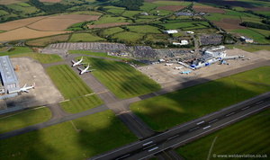 Cardiff Airport aerial photograph