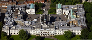 Cardiff University aerial photograph