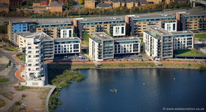 Ferry Court, Cardiff Bay, CF11 aerial photograph