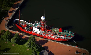 Lightship 2000 Cardiff aerial photograph